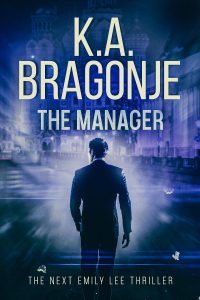 The Manager cover for e-book and paperback